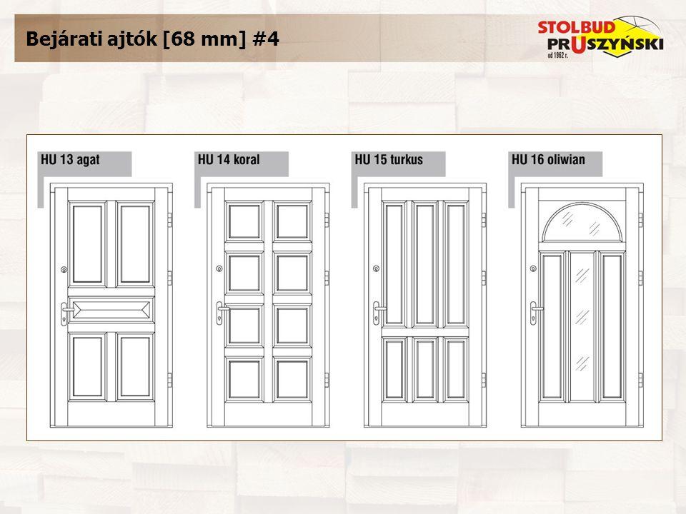 Bejárati ajtók [68 mm] #4